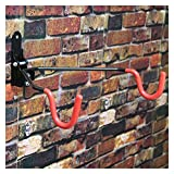 Colgador Bicicleta Pared Pantalla de bicicleta Soporte Aparcamiento Soporte Double Hook Gancho de pared Bicicleta Colgante Tienda Tienda Show Colgar Bici Pared (Color : Double hook, Size : A)