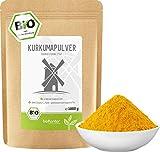 BIO Kurkuma Pulver gemahlen 1000 g / 1 kg | Kurkumapulver - Curcuma - Curcumin | 100% naturrein | Rohkostqualität | aus Indien von bioKontor