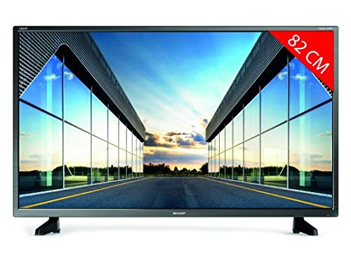 "Televisor Sharp 32CB2E - TV 32 Pulgadas 32"" (resolución 1368 x 720, 3X HDMI, 2X USB) Color Negro"