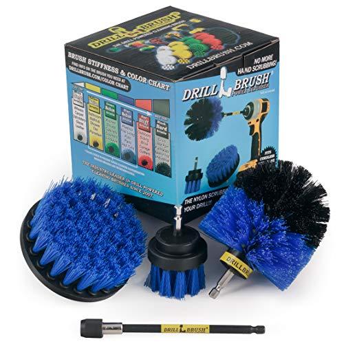 Prodotti per la pulizia - Drill Brush - Barca Accessori - Spin Marine Brush Set - Kayak - Zattera - Barca - Canoa - gonfiabile - Peschereccio - Alghe - Pond Scum, olio di sansa, Barnacles, ossidazione