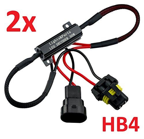 L&P Car Design GmbH L&P B541: 2 Pezzi HB4 9006 CanBus Plug&Play Resistenza elettrica per LED/SMD, nessun messagio di Errore