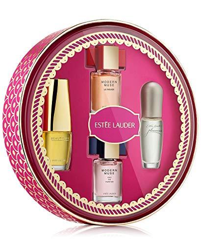 Estee Lauder Fragrance Treasures 4-piece Miniature Gift Set for Women