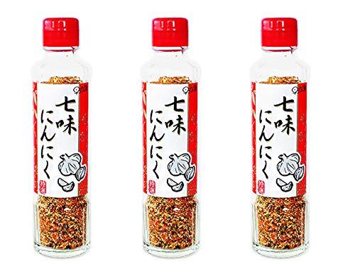 七味にんにく90g 3本セット(進化した七味唐辛子)手作りの調味料(元祖七味にんにく)早池峰(ミックススパイス)