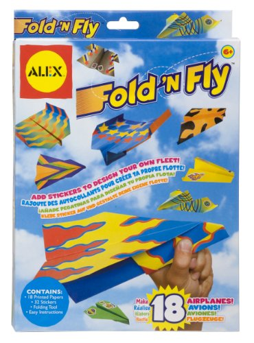 Alex Fold n Fly Paper samoloty