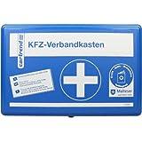 Cartrend 7700126 Kit de primeros auxilios clásico con manual de primeros auxilios, DIN 13164, azul
