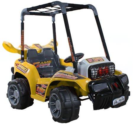 ARTI Voiture - Véhicule électrique pour Enfant Electric Buggy JJ013b Yellow
