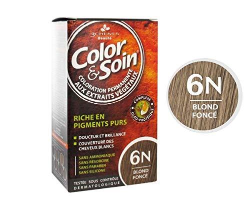Les 3 Chênes Color & Soin Coloration Femme - Blond Foncé : 6N
