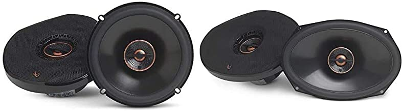 "$152 » Infinity Reference 6532IX 6-1/2"" 2-Way Car Speakers - Pair, 6.5 Inch & Reference 9632IX - 6"" x 9"" Two-Way car Audio Speaker"