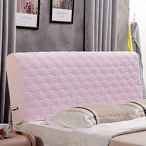 Patchwork Funda para cabecera de cama tamaño Queen Cabecero Protector con elástico a prueba de polvo para cama doble King Cabecero