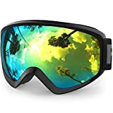 Kids Ski Goggles, Findway Snow Snowboard Goggles for Youth Junior Girls Boys Age