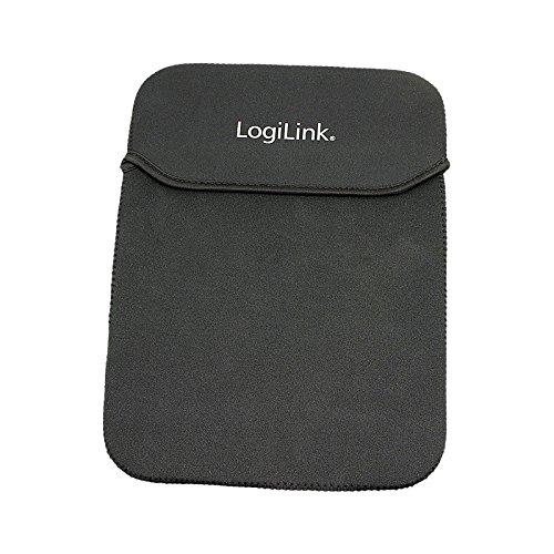 LogiLink NB0042 Sleeve für Tablet-PC, Nylon, schwarz für 25,40 cm