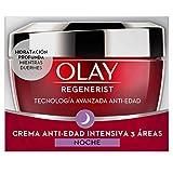 Olay Regenerist Crema de noche | Crema facial de noche sin fragancia con niacinamida y péptidos, 50 ml