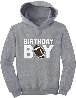 Tstars Birthday Boy Gift Football Boys' Birthday Toddler Hoodie