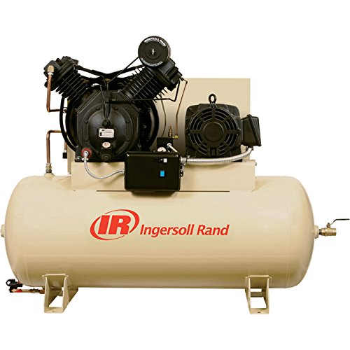 model air compressors Ingersoll Rand Electric Stationary Air Compressor (Fully Packaged) - 15 HP, 50 CFM at 175 PSI, 200 Volts, Model Number 7100E15-P