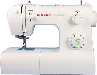 Singer Tradition 2273 Machine à Coudre Blanche 34 Points Ajustables
