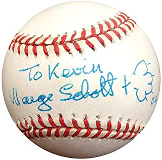 Marge Schott Signed Auto NL Baseball Cincinnati Reds Owner To Kevin - Beckett Authentic