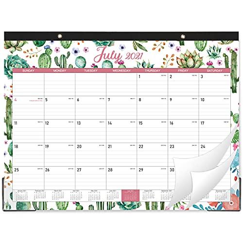"""2021-2022 Desk Calendar - Large Desk Calendar, 22"""" x 17"""", July 2021 - Dec 2022, 18 Months Planning, Large Ruled Blocks, Desk/Wall Calendar for Planning and Organizing"""