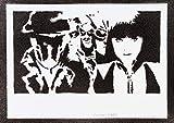 Watchmen (Die Wächter) Poster Plakat Handmade Graffiti Street Art - Artwork