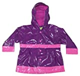 Western Chief Little Kids Girls' Waterproof Rain Coat, Olivia, 4T