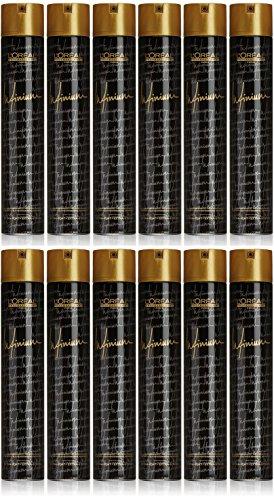 L'Oréal Professionnel Infinium Extra Strong Lot de 12 flacons de 500 ml
