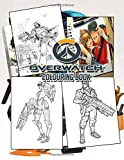 Overwatch Colouring Book: Anyone Who Is A Fan Of Overwatch Game Will Love This Coloring Book With Be...