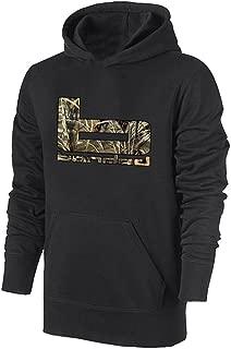 Banded B Logo Hoodie - Black with Max5 Logo
