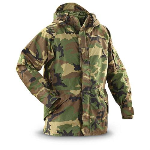 New US Army Cold Wet Weather Gen 1 ECWCS Woodland Goretex Parka Jacket Coat (Large/Short)