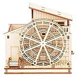 Creative DIY Hecho a Mano Juguetes para niños 3D Bloques de construcción de Rompecabezas de Madera Tridimensional 3D Montaje de Rompecabezas de Madera