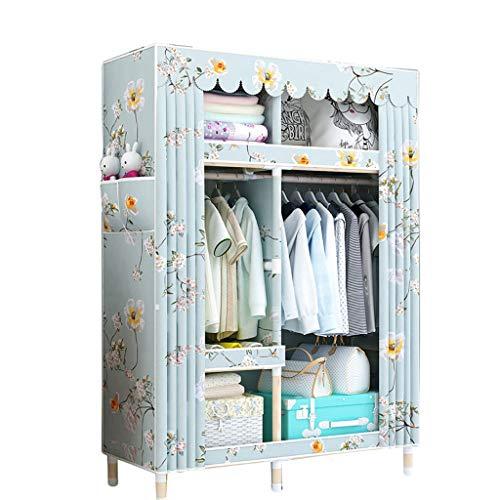 Kleiderschrank WTL Einfacher Massivholzkleiderschrank 105 * 45 * 170 Einfacher (Farbe : B)