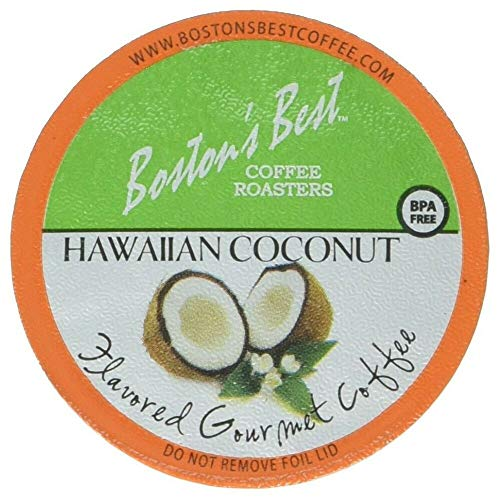 Boston's Best 42 Count Single Serve K-Cup Coffee, Hawaiian Coconut,