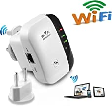 WiFi Repeater/Mini WiFi/US Plug/WiFi Range Extender Wireless Access Point / 2.4GHz High Speed Network Ap/Repeater Modes, with Ethernet Port WiFi Signal Internet Booster Compatible with Alexa