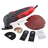 Power Corded Oscillating Multi Tool, Hi-Spec DT30301, 220W with 37...