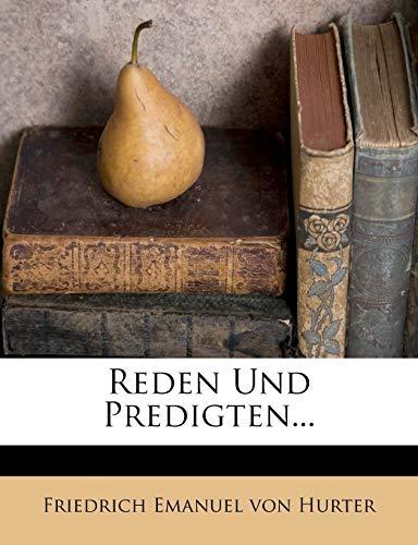 Friedrich Emanuel von Hurter: Reden und Predigten, 1844