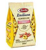 Barilla Emiliane Tortellini Prosciutto Crudo Pasta Italiana Seca con Jamón Gr.250