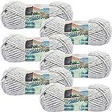 Lion Brand Springfield Silver Hometown USA Yarn 6/Pk 6 Pack