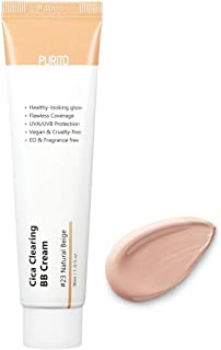 PURITO Cica Clearing BB Cream #23 Natural Beige SPF38/PA+++ 1 fl.oz / 30ml, Vegan bb cream, foundation, cruelty free