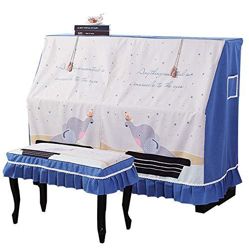 Household dust beschermhoes voor Pianoforte, verticaal, universeel, met overtrek, voor Pianoforte