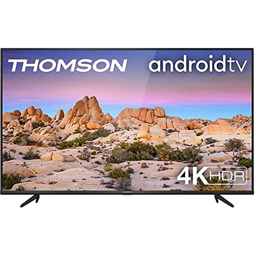 Thomson | 55UG6400 | Smart Tv - Android Tv, 55 Pollici, 4k Ultra HD