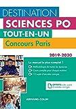 Destination Sciences Po - Concours Paris 2019-2020 - Tout-en-un: Tout-en-un (2019-2020)
