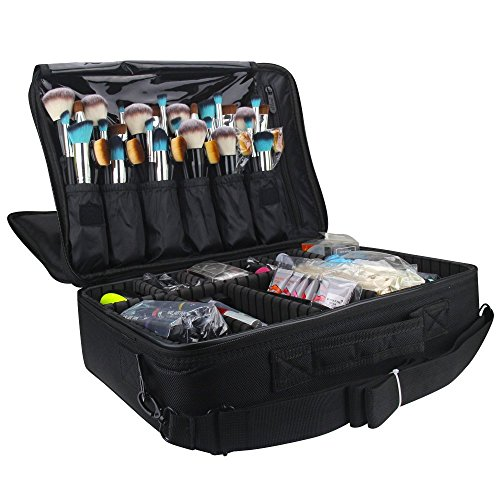 Travelmall Cosmético Organizador-Profesional Maquillaje Case-Travel...