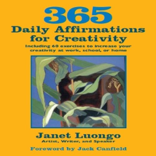 365 Daily Affirmations for Creativity audiobook cover art