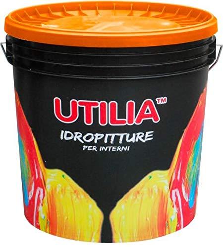 Idropittura Semilavabile Traspirante per Interni colore bianco confezione da 14 litri