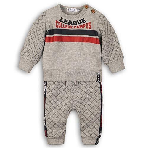 DIRKJE Sweat et Pantalon de Jogging bébé garçon - Gris - 9 Mois