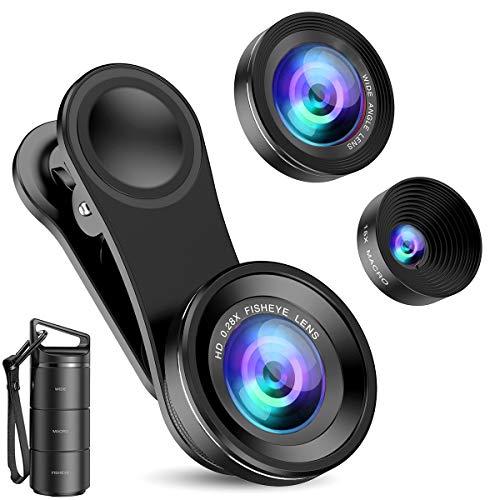 Criacr Phone Camera Lens (Upgraded Version), 3 in...