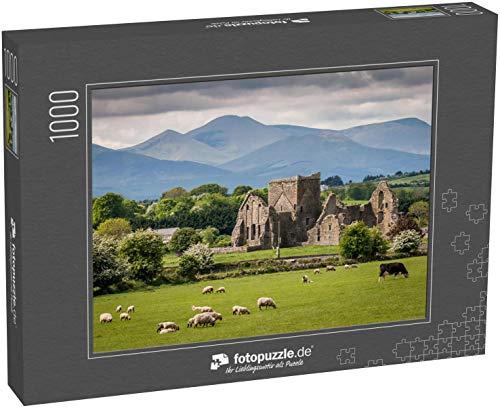Puzzle 1000 Teile Idyllische irische Landschaft - Klassische Puzzle mit edler Motiv-Schachtel, Fotopuzzle-Kollektion 'Irland'