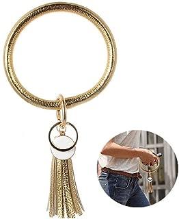 Wristlet Keychain Bracelet Bangle Keyring Big Key Ring Keychain Gift Keyring Bracelet For Women Girls