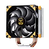 SilverStone Technology Technology AR01-V3 Argon Series CPU Cooler with 3 Direct Contact Heat Pipes and 120mm PWM Fan (SST-AR01-V3)
