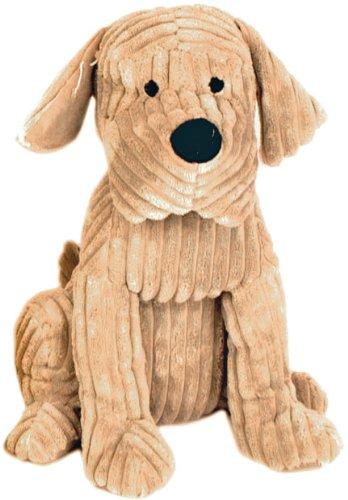 fermaporta, simpatico cane fermaporta, cavo di grosso, il cane a coste 28 centimetri, marrone