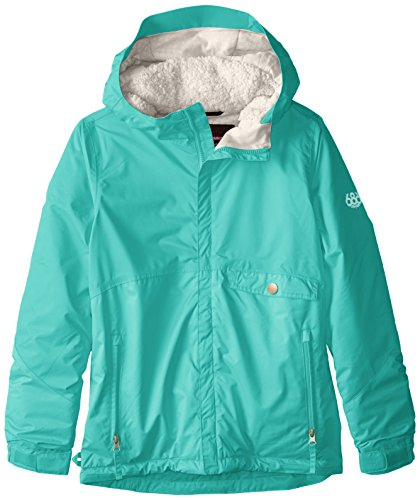 686 Mädchen Jacke Wendy Insulated Jacket, Mädchen, Tiffany, X-Large