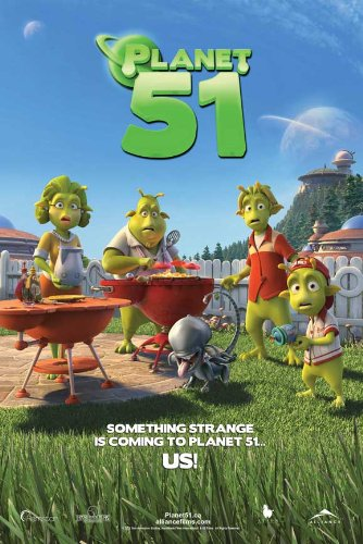 Planet 51 - 27 x 40 Movie Poster